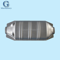 OEM stainless steel exhaust pipe stamping