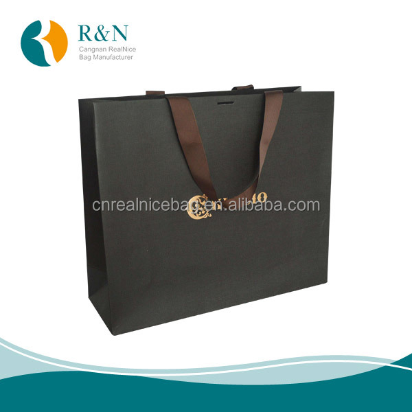 Recycling Material OEM waterproof kraft paper bag,custom Paper Bag,jewelry paper bag