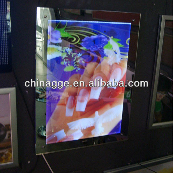 Advertising Magic Mirror with Sensor