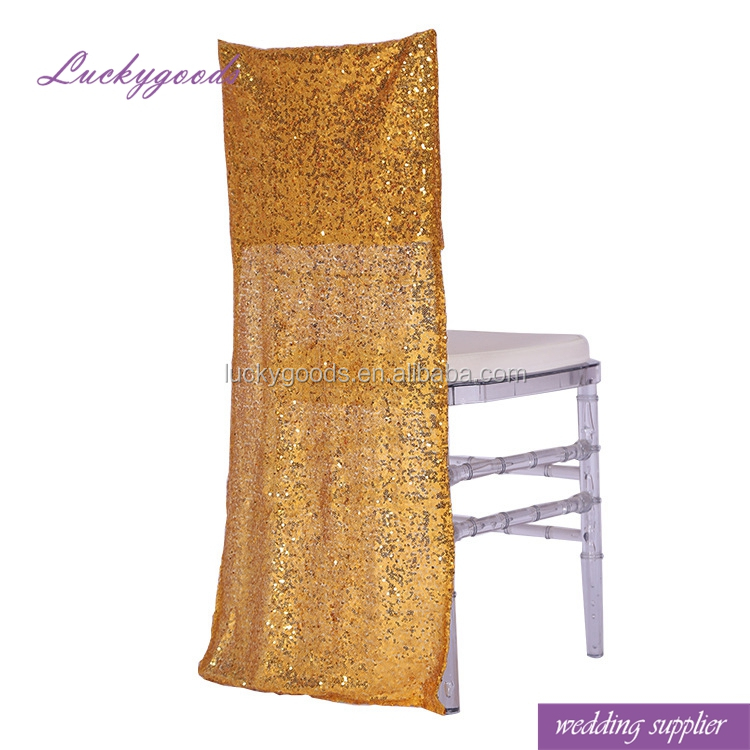 Rose Gold Sequin Chair Sash Supplieranufacturers At Alibaba Com