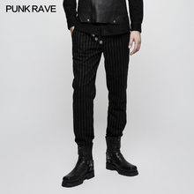 K-303 western style formal mens striped pants tailored trousers
