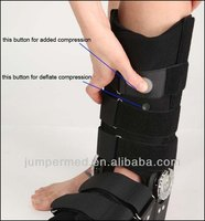 China Air Pouches+ ROM Hinged Fracture Walker Brace/Ankle walker