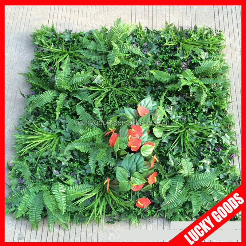 cp031 factory sale artificial plant wall for showcase decoration