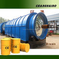 Engineers oversea waste scrap tyre pyrolysis machine with CE ISO SGS