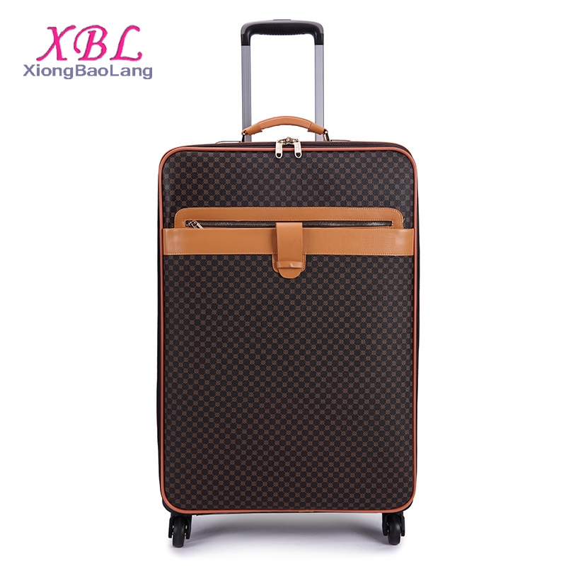 XBL hot selling 2017 amazon luggage bags elegant travel luggage sets president luggage