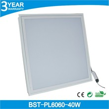 Factory price and high quality 600x600mm panel led, 40w panel led light with 3 years warranty