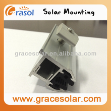 Solar Energy Roof Racking System Components, Frameless Module Clamp for Solar PV System, Roof Mounting System Clamps