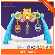 Wholesale funny baby musical play gym toy for 0-18 months