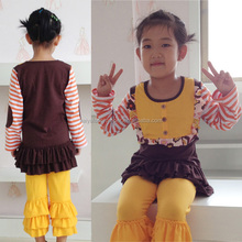 September Autumn soft organic cotton turkey wholesale baby clothes