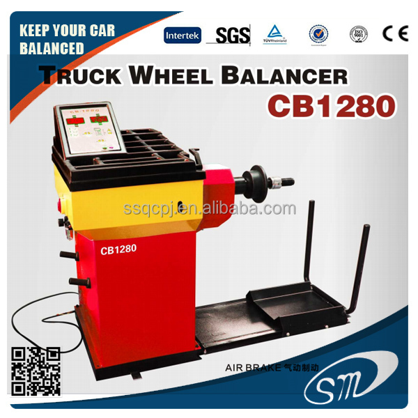 Truck Wheel Balancing Machine /good quality tire balancer heavy duty wheel alignment and balancing machine