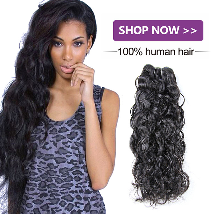 Wavy wholesale virgin Malaysian hair, unprocessed Malaysian Natural wave hair extension, Malaysian hair weave