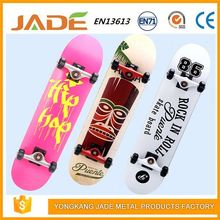 Fast portable wooden skateboard spare part