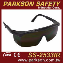 PARKSON SAFETY Taiwan Industry Use Custom Color Adjustable Infra-Red Safety Glasses CE EN166 EN169 ANSI Z87.1 SS-2533IR