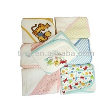 China knitted custom satin baby blankets chenille throw blanket