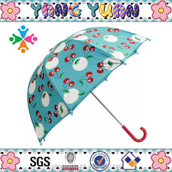 100% Polyester Blue Fruits with Custom Print Umbrella for Lifting Hook