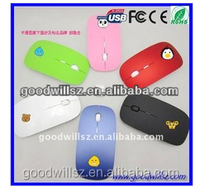 Gift Cheapest 2.4Ghz Wireless Mouse with Competitive Price