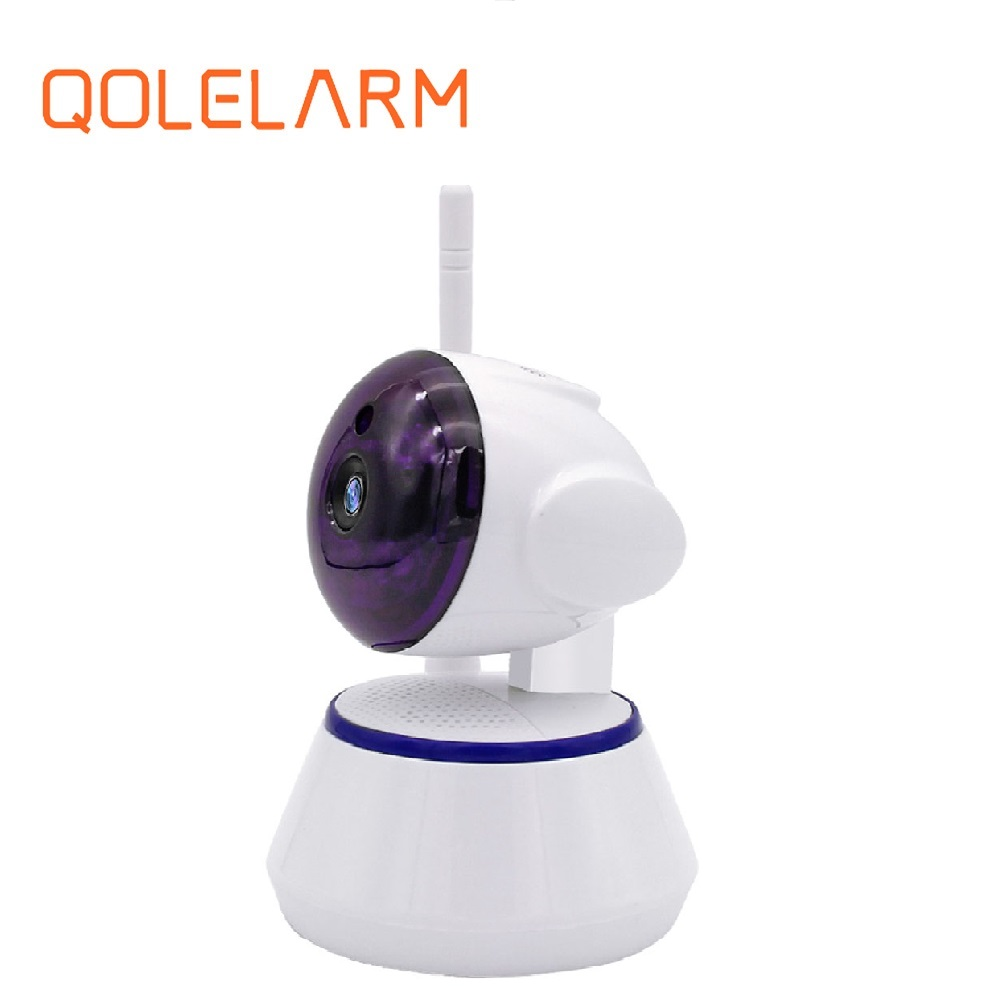 voice intercom night vision All in one ip network camera