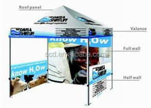 Promotion customized trade show folding tent