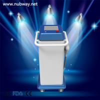 Hot vertical q switch laser tattoo removal &nevus removal& freckle removal nd yag laser