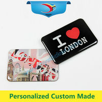 Customized rubber 3d soft pvc fridge magnet with free logo printing
