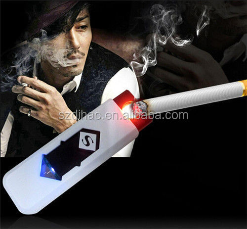 DIHAO Smoking Accessories Top Quality USB Lighter &2015 Newest Novelty Electronic usb lighter cigarette