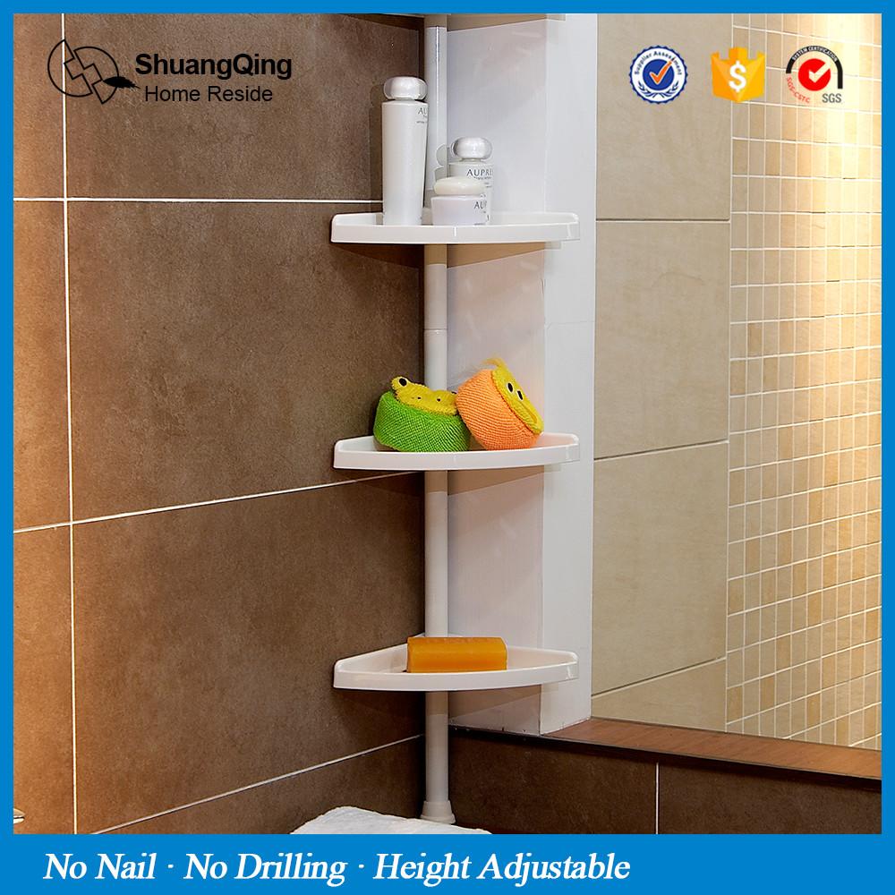 4 Tiers Bathroom Toilet Corner Shelf With Adjustable Height - Buy ...