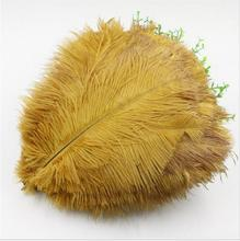 Factory Wholesale Artificial White and dyed colors 55-60cm Ostrich feathers for wedding party and carnival decoration