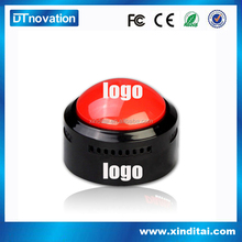 Custom Plastic Talking Buzzer Push Sound Button With Voice