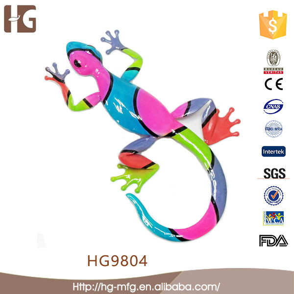 Metal Fancy Home Decoration Craft Gecko