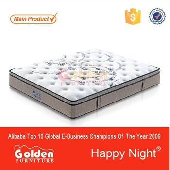 New design 3 zoned box spring mattress spain S8341