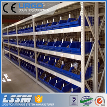 Adjustable steel long span shelf for warehouse
