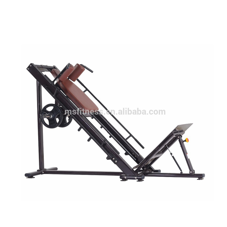 MS <strong>Fitness</strong> H-022A leg press hack squat machine / Commercial <strong>fitness</strong> machine