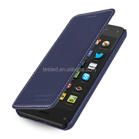 TETDED Premium Leather Case for Amazon Fire Phone -- Dijon II (LC: Navy Blue)
