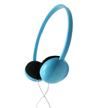 Deep bass sound cheap disposable stereo funny cool design multi colors headphones