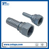 hebei BSP Rubber hose end fittings / hydraulic hose fittings 22611