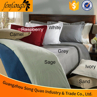 Elegant Design Direct factory price 50% Cotton 50% polyester hotel bed linen