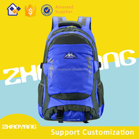 2015 New stylish backpack vintage canvas school backpack hiking backpack