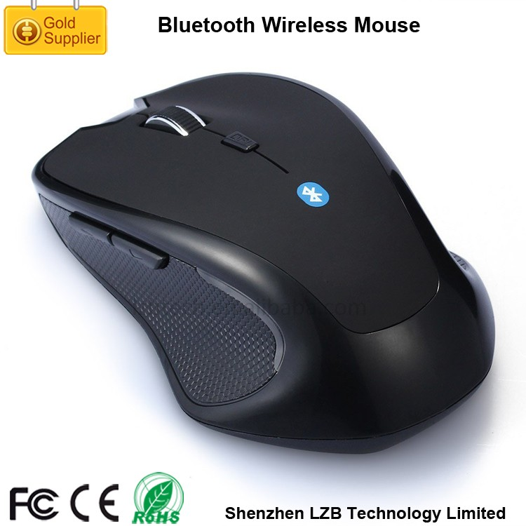 BWM-01`Great Hand Touching Feeling 3D Bluetooth Wireless Optical Mouse with Rechargeable Battery
