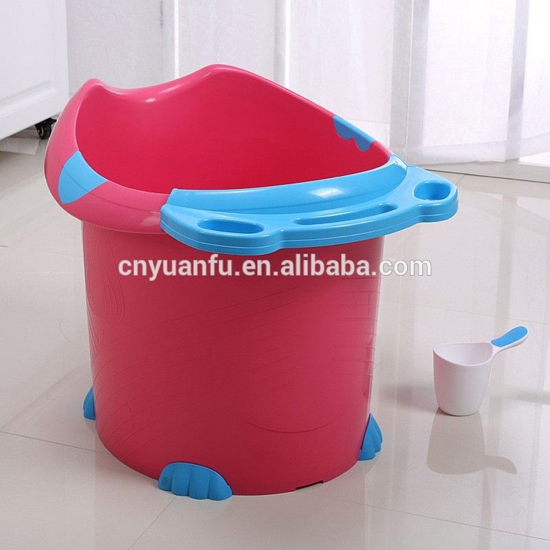 portable baby bathtubs kids plastic bath tub plastic bag