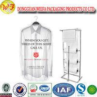 Clear Polyethylene Dry Cleaning Garment Bags On Rolls