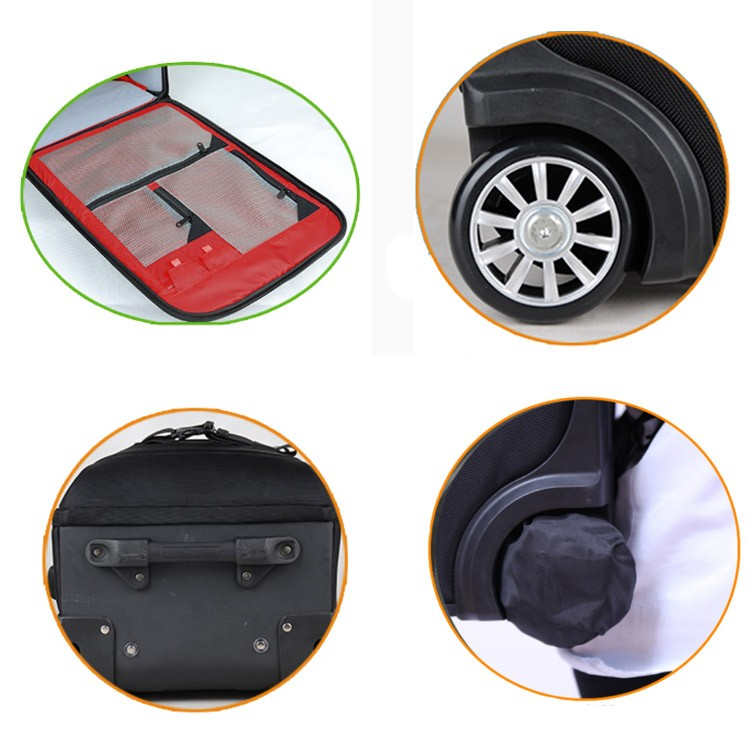 Wholesale Photo Backpack with Trolley for DSLR Cameras