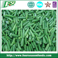 wholesale frozen/IQF fresh green beans in bundle /cut/whole in 2016,chinese frozen vegetables