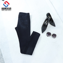 China factory latest design jeans pent pants ladies top on sale