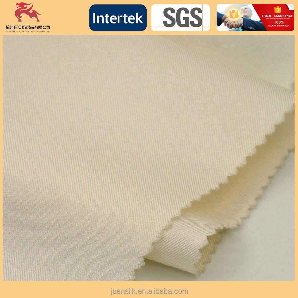 Wholesale silk twill fabric for tie 15.5M/M width:114cm Prepared for dyeing
