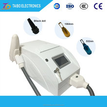 all pigment tattoo laser pore removal / nd yag laser freckle spot eye brow tattoo remove / skin tag removal 1064nm 1320nm 532nm