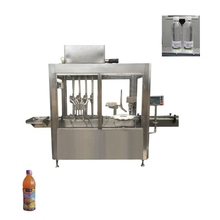 JB-YG4 metal bottle cooking oil machine <strong>fruit</strong> juice filling line with touch screen