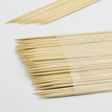 Wholesale Eco-friendly Bbq Natural Extra Long Bamboo Stick For Food