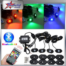 waterproof super bright RGB rock light for all cars