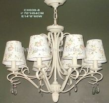 2012 Iron Chandeliers,crystal,CH039-8
