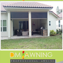 Retractable Side Awning Vertical Blind Awning